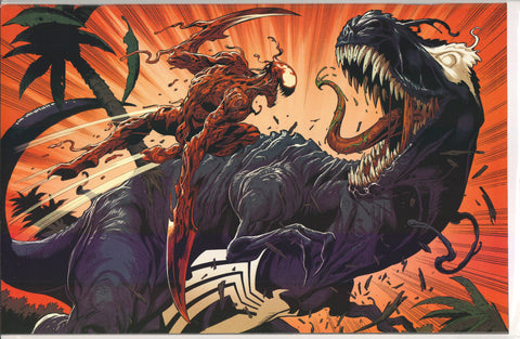 VENOM #25 (3RD PRINT MARK BAGLEY V-REX EXCLUSIVE VIRGIN VARIANT) ~ Marvel Comics
