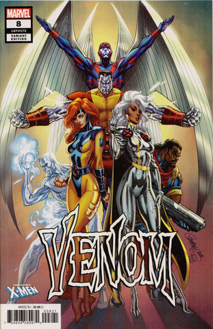 VENOM #8 (J. SCOTT CAMPBELL VARIANT) COMIC BOOK ~ Marvel Comics