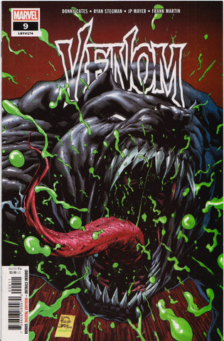 VENOM #9 (TONGUE VARIANT) COMIC BOOK ~ Marvel Comics