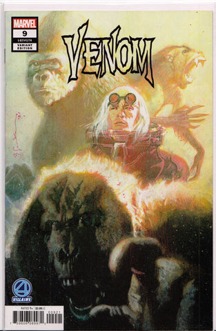 VENOM #9 (FANTASTIC FOUR VARIANT) COMIC BOOK ~ Marvel Comics