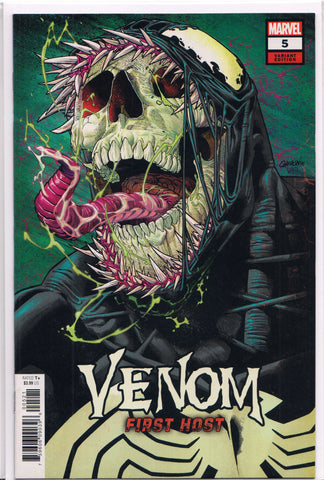 VENOM: FIRST HOST #5 (GARRON VARIANT) COMIC BOOK ~ Marvel Comics