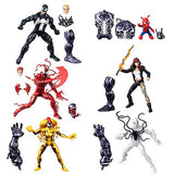 Marvel Legends ~ VENOM ACTION FIGURE SERIES 1 SET w/MONSTER VENOM BAF COMPLETE
