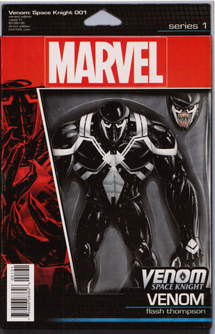 VENOM: SPACE KNIGHT #1 (ACTION FIGURE VARIANT) COMIC BOOK ~ Marvel Comics