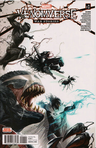 VENOMVERSE: WAR STORIES #1 (FRANCESCO MATTINA VARIANT) COMIC BOOK ~ Marvel Comics