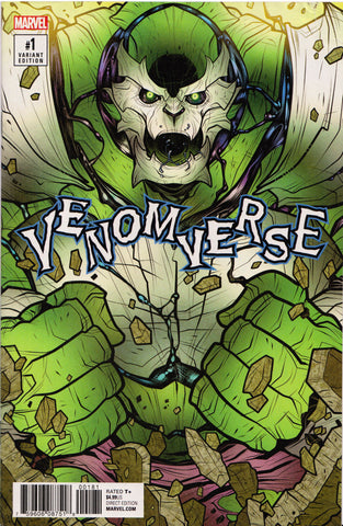 VENOMVERSE #1 (POISON VARIANT) COMIC BOOK ~ Marvel Comics