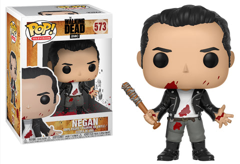 Funko POP! Television ~ NEGAN (CLEAN SHAVEN) VINYL FIGURE ~ The Walking Dead