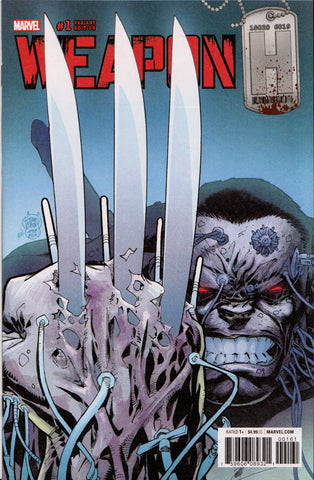 WEAPON H #1 (ADAM KUBERT VARIANT) ~ Marvel Comics Hulk
