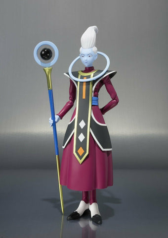 Dragonball Z ~ S.H. Figuarts ~ WHIS ACTION FIGURE ~ BANDAI SUPER, RESURRECTION F