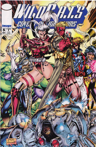 WILDCATS #5 (JIM LEE COVER) COMIC BOOK ~ Image Comics