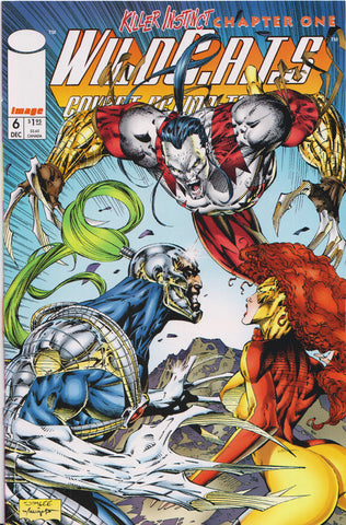 WILDCATS #6 (JIM LEE COVER) COMIC BOOK ~ Image Comics