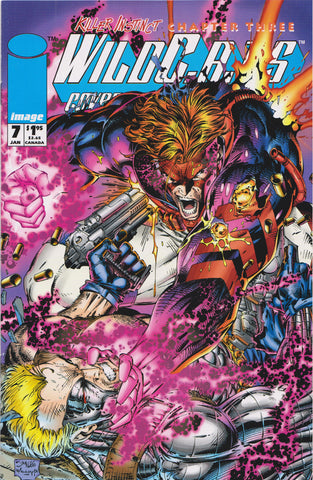 WILDCATS #7 (JIM LEE COVER) COMIC BOOK ~ Image Comics