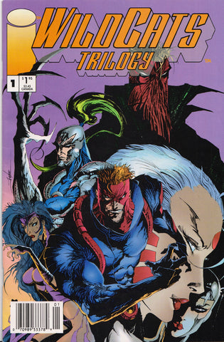 WILDCATS: TRILOGY #1 (JAE LEE)(NEWSSTAND COVER) COMIC BOOK ~ Image Comics