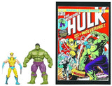 Marvel Universe ~ WOLVERINE vs HULK Action Figure Set - Greatest Battles #181