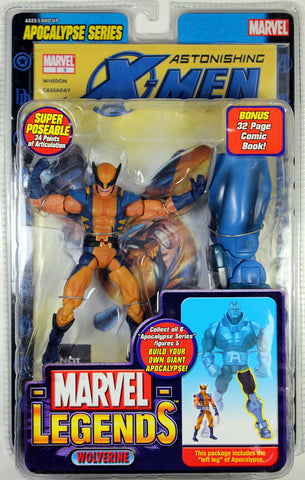 Marvel Legends ~ WOLVERINE (MASKED)(SERIES 12) ACTION FIGURE ~ Apocalypse Series