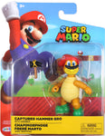 World of Nintendo ~ CAPTURED HAMMER BRO (WAVE 15) ACTION FIGURE ~ Super Mario Bros.