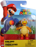 World of Nintendo ~ FIRE BRO w/FIREBALL (WAVE 14) ACTION FIGURE ~ Super Mario Bros.