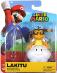World of Nintendo ~ LAKITU (WAVE 15) ACTION FIGURE ~ Super Mario Bros.