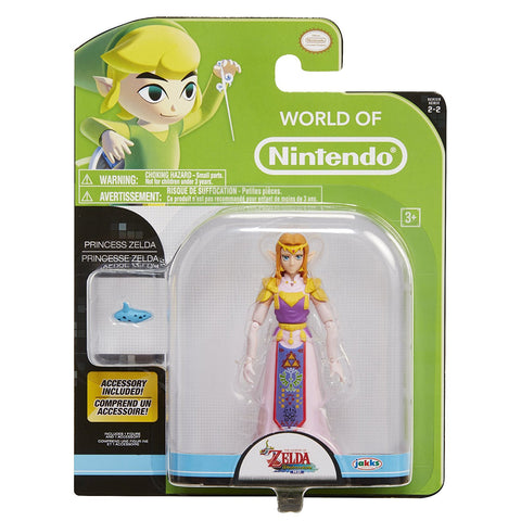 World of Nintendo ~ PRINCESS ZELDA Action Figure ~ Legend of Zelda: Wind Waker