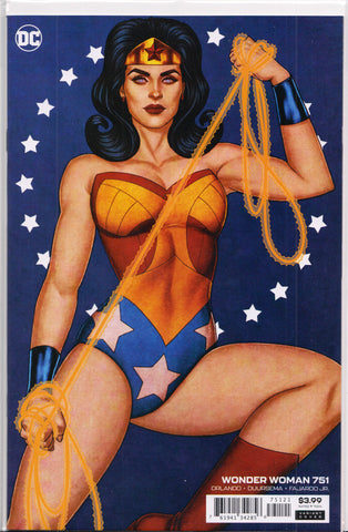 WONDER WOMAN #751 (JENNY FRISON VARIANT) COMIC BOOK ~ DC Comics