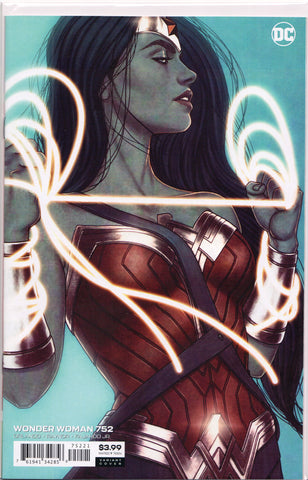 WONDER WOMAN #752 (JENNY FRISON VARIANT) COMIC BOOK ~ DC Comics