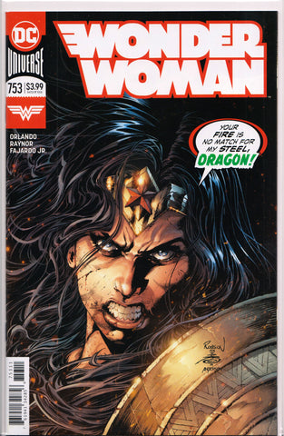 WONDER WOMAN #753 (ROBSON ROCHA VARIANT) COMIC BOOK ~ DC Comics