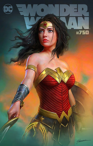 WONDER WOMAN #750 (SHANNON MAER EXCLUSIVE VARIANT COVER) ~ DC Comics ~ PRE-SALE