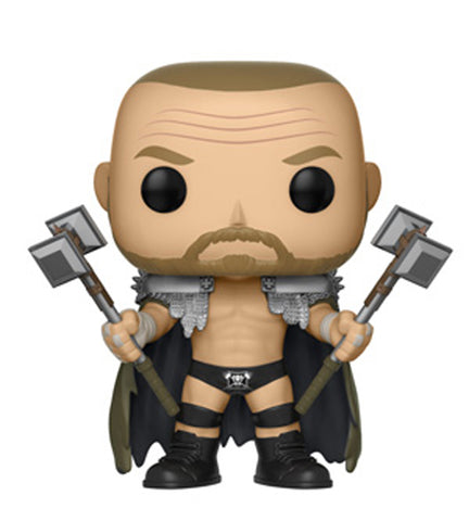 Funko POP! WWE ~ TRIPLE H (SKULL KING) VINYL FIGURE ~ Wrestling Wrestle Mania