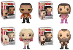 Funko POP! WWE ~ WWE WAVE 7 VINYL FIGURE SET OF 4 ~ The Rock, Razor Ramon++++