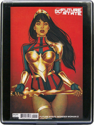 FUTURE STATE: WONDER WOMAN #2 (FRISON) Framed Comic Book Custom Home Decor Wall Art