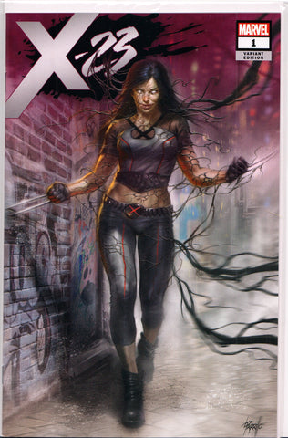 X-23 #1 (LUCIO PARRILLO EXCLUSIVE VENOMIZED VARIANT) COMIC BOOK ~ Marvel Comics