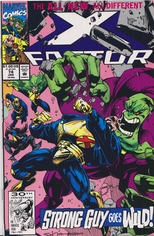 X-FACTOR #74 (1ST PRINT) COMIC BOOK ~ Marvel Comics