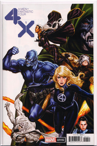 X-MEN/FANTASTIC FOUR #1 (MARK BROOKS VARIANT) COMIC BOOK ~ Marvel Comics