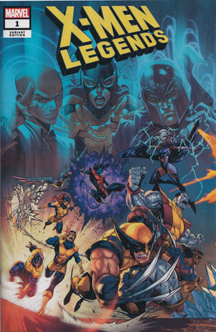 X-MEN LEGENDS #1 (COELLO VARIANT COVER) COMIC BOOK ~ Marvel Comics