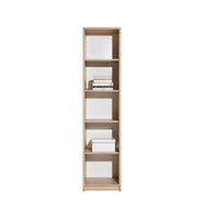 Aygo Bookstand in Sand Beech/White/Concrete