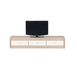 Axel TV Unit in Thuja and Jasmine Gloss Colour