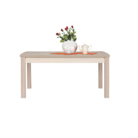 Axel Extendable Dining Table in Thuja and Jasmine