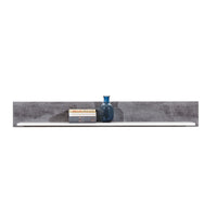 Brando Shelf in White and Concrete