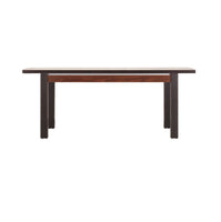 Forrest Extendable Dining Table in Dark Walnut and Miano Oak Colour