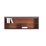 Forrest Wall Mounted Cabinet in Dark Walnut and Milano Oak