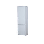 Jasper tall unit cupboard in light grey colour