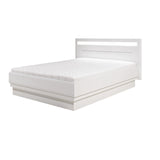 Irma White European Super King Size Bed Frame