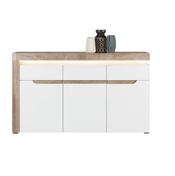 Irma White & Oak Sideboard