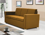 Epic 3-seater sofa in gold colour
