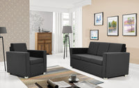 Epic 2-seater sofa in grey colour