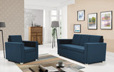 Epic 2-seater sofa in blue colour