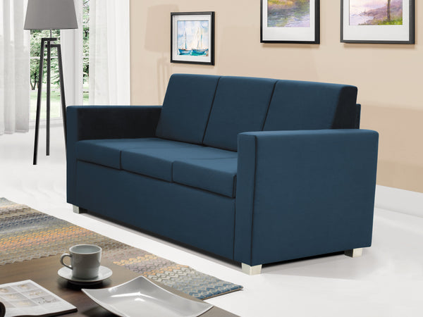 Epic 3-seater sofa in blue colour