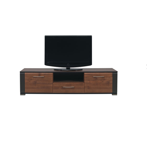Naomi TV Unit in Walnut and Wenge Colour