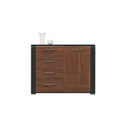 Naomi Cupboard in Walnut and Wenge Colour