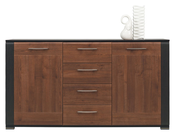 Naomi Sideboard in Walnut and Wenge Colour