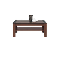 Naomi Coffee Table in Walnut and Wenge Colour